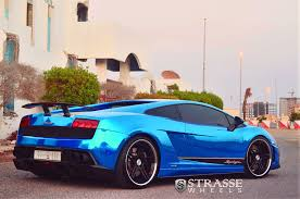 lamborghini gallardo 2014 blue. strasse wheels lamborghini gallardo superleggera lp5704 sp5r deep concave chrome blue 2014