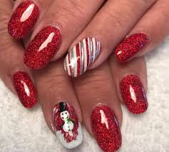 79 Unique Christmas Nail art Ideas To Stand Out This Season ...