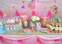 Princess Party Decoration A Disney Princess Party On A Budget Plus Free Printables