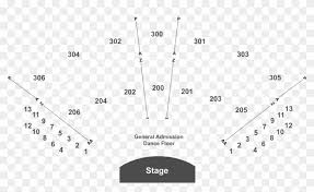 Hulu Seating Chart Legend Seating Chart Hulu Theater Seating Hd Png Download