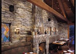 es rustic ledge sawtooth with rubble int restaurant fireplace