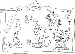 Small Picture Lovely Circus Coloring Page 11 About Remodel Line Drawings with
