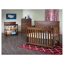 Child Craft Redmond 4 in 1 Convertible Crib Tar