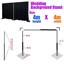 curtain backdrop stand wedding curtain stand wedding backdrop stand with expandable rods backdrop frames curtain backdrop curtain backdrop stand