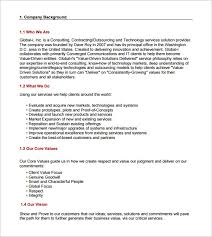 Sample Proposal Letter For Consultancy Services It Consulting Proposal Sample Magdalene Project Org