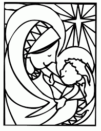 Adult Christian Christmas Coloring Page Religious Christmas Coloring