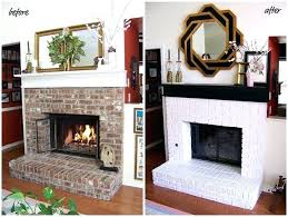 full size of white brick fireplace decor painted ideas black mantle 8 best images on kids