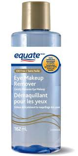 equate oil free eye makeup remover