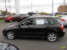 Black 2008 Kia Spectra 5 SX Wagon Exterior Photo #55261165 ...