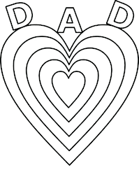 coloring pages for fathers day father coloring pages fathers day big love for daddy on page