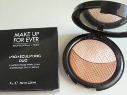 make up for ever 1 pink beige pro sculpting duo undetectable face contour 2