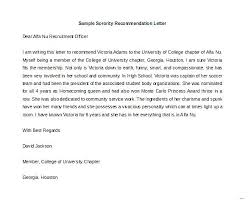 Template Letter Of Recommendation Letter Recommendation Templates Pics Sorority Template Word