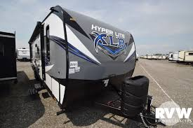 2019 forest river xlr hyper lite 29hfs toy hauler travel trailer