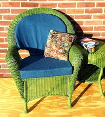 wicker seat cushions outdoor replacement furniture pads pad cane chair cushion cover large size