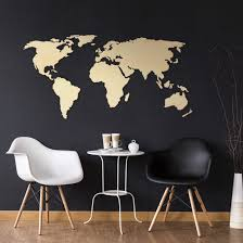 wooden 3d worldmap poplar wall art com
