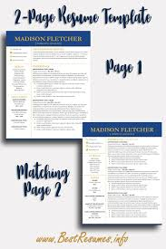 Resume Template Madison Fletcher Resume Templates For Google Docs