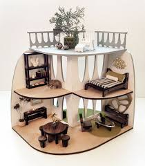 contemporary dollhouse furniture. sustainable midcentury modern dollhouse and furniture contemporary pinterest