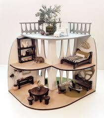 modern dollhouse furniture. sustainable midcentury modern dollhouse and furniture pinterest