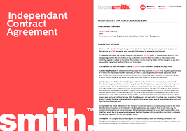 This is similar to an exclusive agency agreement. Freelance Design Contract Template Independent Contractor Agreement