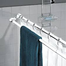 double shower curtain rod photo 1 of 9 shower curtain rod home design ideas 1 double double shower curtain rod