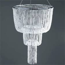 diy crystal chandelier centerpiece chandeliers faux crystal