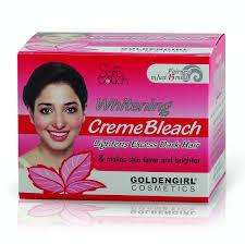 whitening bleach cream
