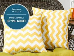 How To Wash Throw Pillows Without Removable Cover Mesmerizing The Best Throw Pillows You Can Buy Business Insider