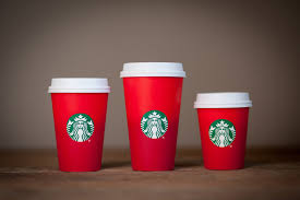 Image result for starbucks red christmas cup