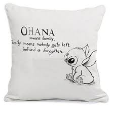Pillow Quotes Best Ohana Stitch Quote Movies Pillow Case 48 From Amazon Things I