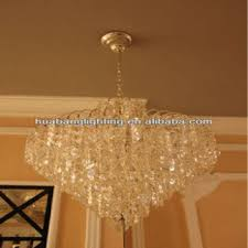 china six bulb small size k9 crystal chandelier candle holders
