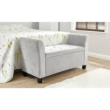 Clarissa Upholstered Storage Bedroom Bench