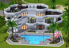 id e d coration facade maison for construire une sims 3 xbox 360