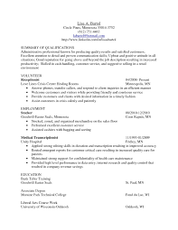 Medical Transcription Resume Medical Transcription Resume Examples Examples Of Resumes 11