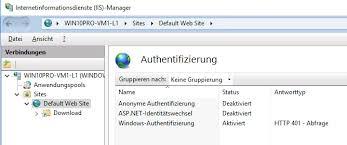Web-Server (IIS) unter Windows 10 installieren und konfigurieren ...