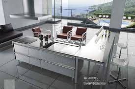 Japanese Kitchen Modern Japanese Kitchen Design With Classic Chairs And Amazing