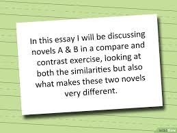cara memulai menulis sebuah esai analisis persamaan dan perbedaan gambar berjudul start a compare and contrast essay step 1