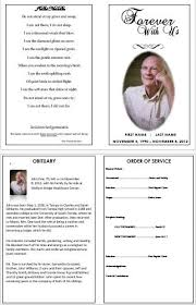 How To Make A Funeral Program How To Create A Memorial Invitation For Your Fathers
