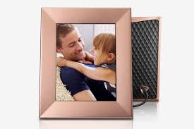 best metallic digital picture frame nixplay iris 8 inch wi fi cloud frame