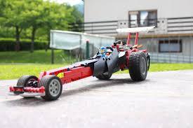 drag race car lego technic mindstorms model team eurobricks