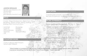 landscape architecture resume - Best Design Images of landscape ...