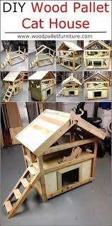 where to buy pallet furniture. Pallets Are Usually Cheap To Buy, So Why Not Make A DIY Pallet Cat House? Wood Furniture Gives You Step By Instructions On Building Your Kitty Where Buy E