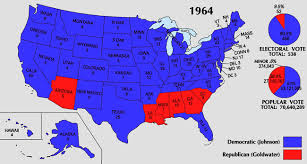 united states presidential election, 1964 wikipedia Final Election Results Map 1964 electoral map png final election results map 2016