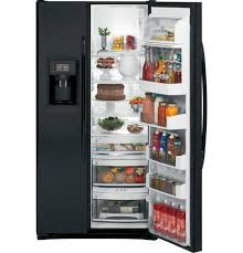 refrigerator black. 220 volt ge pde23ngtf bb 662 liters 23.0 cft black color refrigerator black