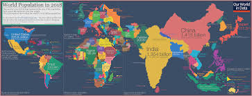 What Does The Chart Illustrate About American Indian Populations This Fascinating World Map Was Drawn Based On Country