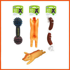 36 x orted dog toys puppy squeaky dental chew toy dumbbell pig sausage rope