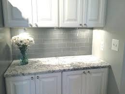 grey tile backsplash kitchen gray subway tile