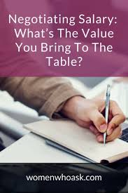 negotiating salary what s the value you bring to the table salary advice salary negotiations career advice how to ask for a raise