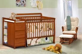 Nursery Decors & Furnitures Baby Crib With Changing Table And