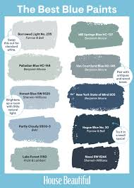 Light Periwinkle Paint 29 Best Blue Paint Colors Great Shades Of Blue Paint To