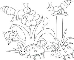 Free Printable Spring Coloring Pages For Preschoolers Printable